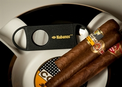 Habanos Cigar Cutter Black