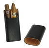 Adorini cigar case leather black (2-3 cigars)